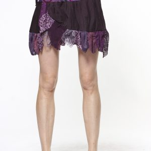Gypsie mini skirt with frills