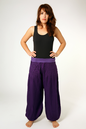 Satin Belly Dance trousers