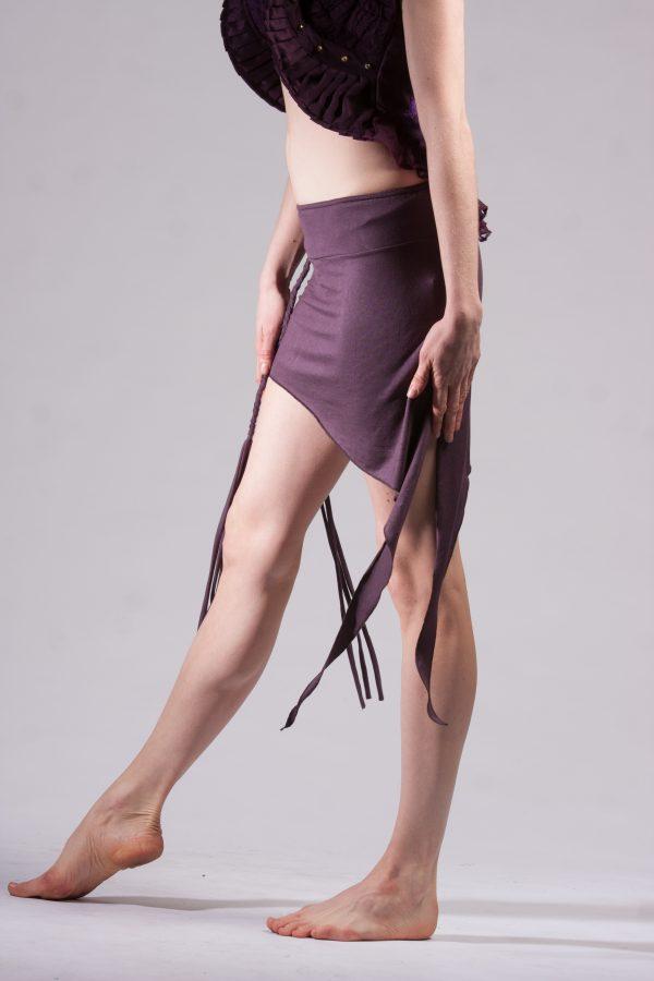 Asymmetrical pixie skirt / top