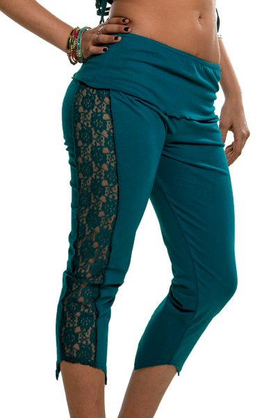 Steampunk Leggings with lace band