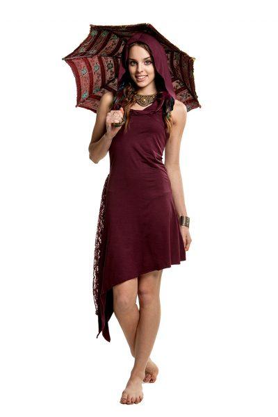 Asymmetrical Steampunk Dress