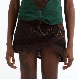 Crochet Steampunk Skirt