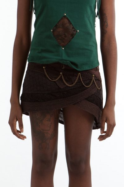 Crochet Steampunk Skirt