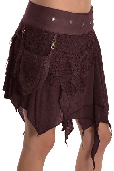 Goa Mini skirt with detachable pocket