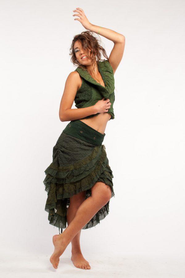 Wrap around Steampunk Skirt