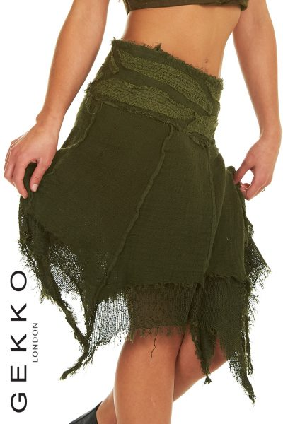 LAYERED FAIRY WRAP SKIRT