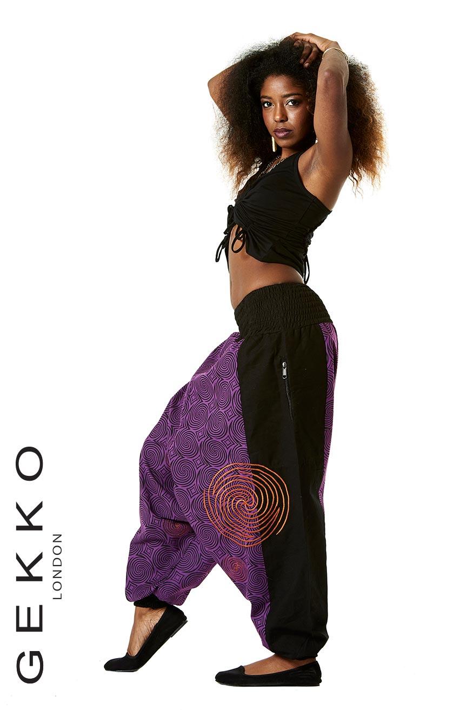 Unisex Aladdin Trousers zip pockets