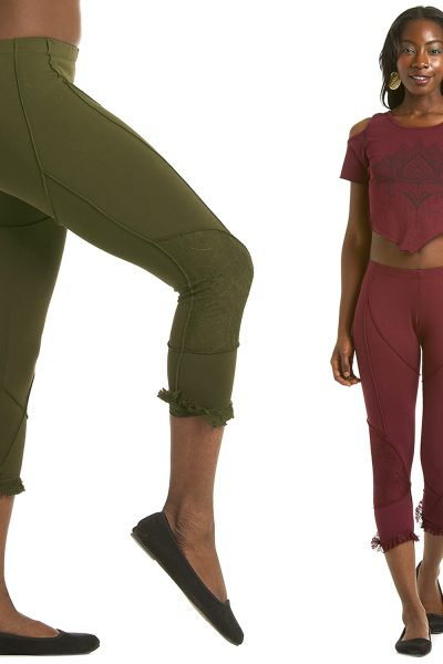 YOGA LEGGINGS; STEAMPUNK PANTS
