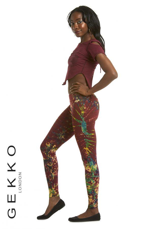 Tie Dye Yoga Leggings