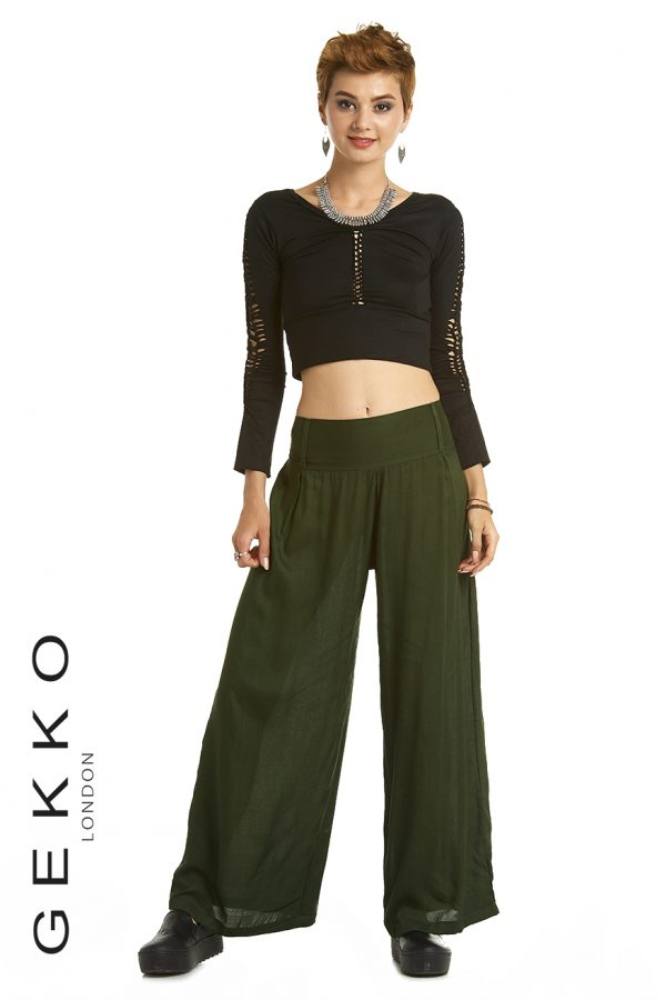 palazzo trousers, straight leg pants